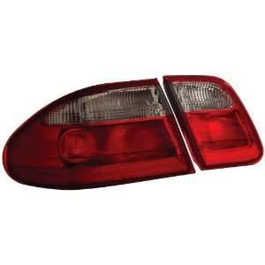 Anzo USA 221156 Mercedes Benz Red/Clear Tail Light Assembly   (Sold in