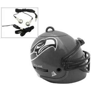 Inside a Miniature Seattle Seahawks Football Helmet. Electronics