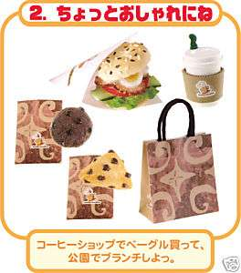 Miniature Gourmet Food Coffee Sandwich Cookie Lunch 2