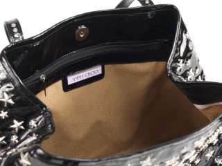 New 2012 Jimmy Choo Black Patent Leather Tote