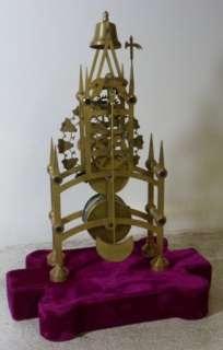 Passing Strike Fusee Skeleton Clock
