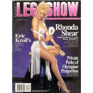 LEG SHOW MAGAZINE AUGUST 1996 RHONDA SHEAR: LEG SHOW: Books