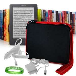 Charger + Kindle DX Wall Charger + VG Live * Laugh * Love Wrist band