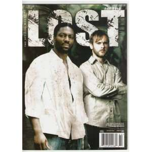 Lost Official Magazine #19 Variant Cover (Mr. Eko & Charlie