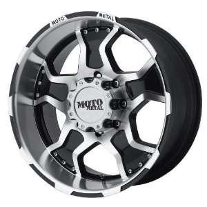 Moto Metal Series MO957 Gloss Black Machined Wheel (18x9/6x135mm)