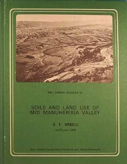 Soils And Land Use Of Mid Manuherikia Valley  Central Otago