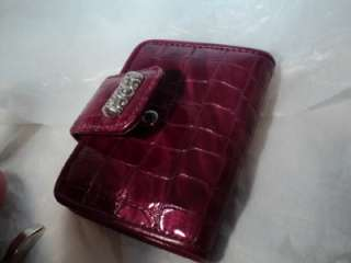 NEW BRIGHTON cher small berry /rasberry small wallet NWT great item