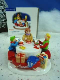 Dept 56 Snow Village Campbells Mm Mm Good NIB #55179 (914)