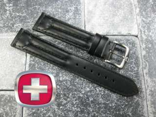 20mm VICTORINOX SWISS ARMY CAVALRY LEATHER STRAP BAND