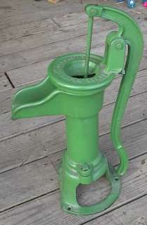 Antique Hand Water Pump 23 High Cast Iron JAMES SMART BROCKVILLE ONT