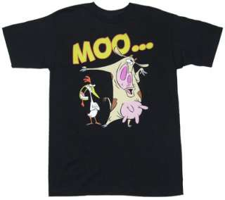 Moo   Cow And Chicken T shirt