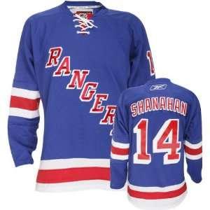 Brendan Shanahan Blue Reebok NHL Premier New York Rangers Jersey