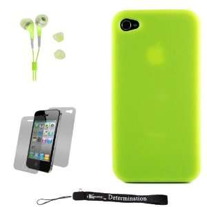 Green Smooth Durable Protective Silicone Skin Cover Case for New Apple