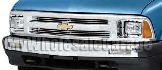 94 97 Chevy S 10 Horizontal Slats Billet Grille Insert