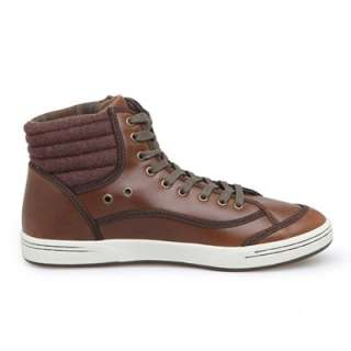 US Size 6 11 New Mens Leather Fashion Lace Up Boots Sneaker Shoes 4