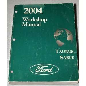 2004 Ford Taurus, Mercury Sable Workshop Manual (FCS 12055