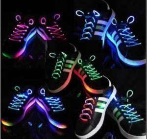 LED Party Glow Flash Light Shoelace Shoe Strap String Great XMAS gift