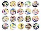 KALEIDO STAR カレイドスター anime pin button BADGE MAGNET SET