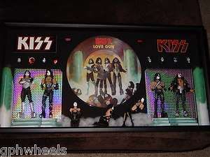 KISS 1977 1978 LOVE GUN PAUL ACE GENE PETER SHADOWBOX  Custom