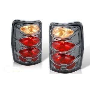 00 06 Chevy Suburban / Tahoe Altezza Tail Light   Chrome