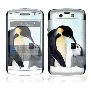 Happy Penguin Decorative Skin Decal Cover Sticker for BlackBerry Storm
