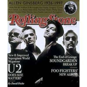 Stone Magazine, Issue 76, May 1997, U2 Cover Jann S Wenner Books