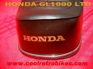 RARE HONDA GL1000 GOLDWING GOLD WING LTD LIMITED 1976 BROWN SEAT RARE