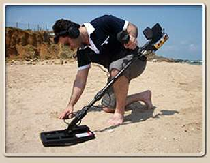 Jeotech Deep Seeking LED Treasure Hunter metal detector |