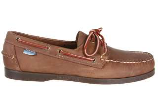 Sebago Mens Boat Shoes B77271 Docksides Light Brown