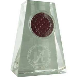 Alabama Crimson Tide Logo Game Used Jersey Swatch Tapered