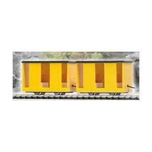 Busch HO RTR Mining Personnel Carrier Car 2 Pack   Yellow