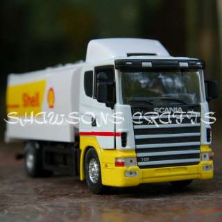 DIE CAST 1/43 SCANIA TANKER METAL TANK TRUCK MODEL