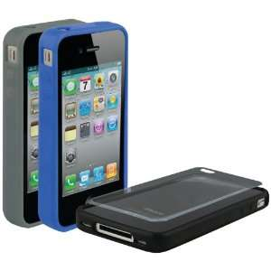 SCOSCHE IP4E3DV UNIVERSAL IPHONE 4 BANDIT G4 RUBBER EDGE