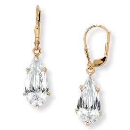 13 CTW LC* DIAMOND LEVERBACK EARRINGS + FREE GIFT