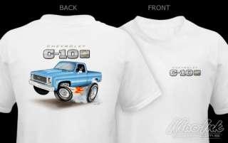 73 80 Chevy C 10 Silverado Truck EMBLEM T Shirt 75 78
