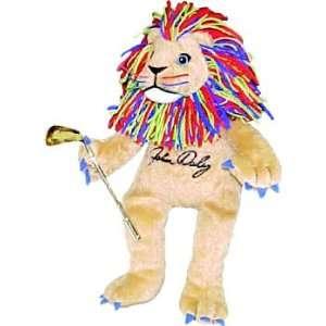John Dalys Lion Golf Collectible Doll Beautiful Item NEW