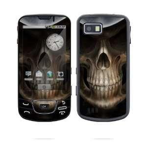Samsung Galaxy (i7500) Decal Skin   Skull Dark Lord