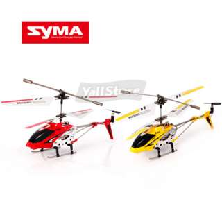 Syma S107g 3 Channel RC Helicopter 3CH Remote Control GYRO Red and