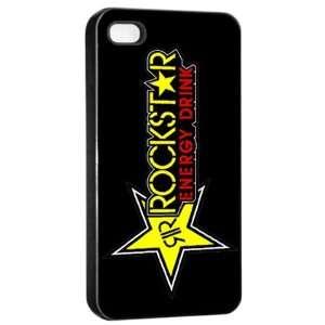 Rockstar Energy Logo Case for Iphone 4/4s (Black) Free