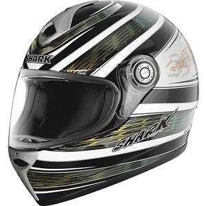 Shark RSF 3 Trendy Helmet   Small/Black/White/Gold