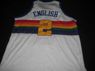 Throwback Denver Nuggets Adult 56 NBA Basketball Jersey STITCHED