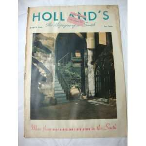 Hollands Magazine March 1943: Texas Farm and Ranch Publishing: Books