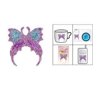 Gino Pink Butterfly Crystal Diamond Flash Art Sticker Electronics