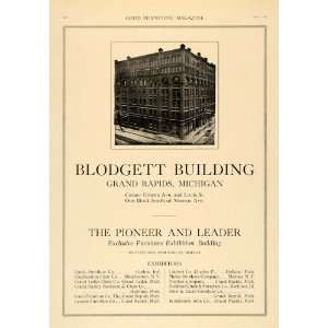 1918 Ad Blodgett Building Grand Rapids Furniture Show