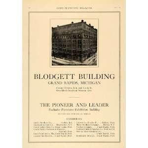 1918 Ad Blodgett Building Grand Rapids Furniture Show