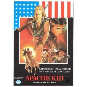 Bianco Apache Poster Movie Spanish 27x40 Home & Kitchen