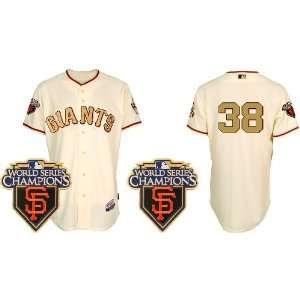 San Francisco Giants #38 Brian Wilson Cream 2011 MLB
