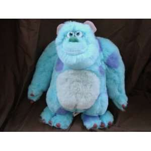 Disney Monster Inc Talking Sulley Sully Plush Doll Toy