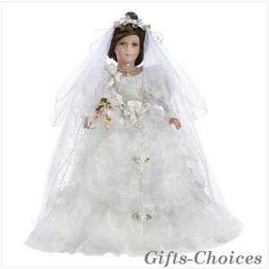 VICTORIA Bride Lifelike Porcelain Doll 22High Retails@$39.95