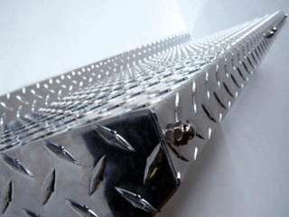 New 40 x 13 Diamond Plate Metal Wall Shelf